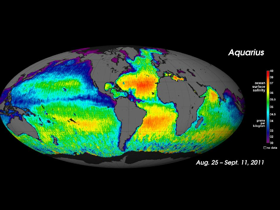 NASA's 'Salt of the Earth' Aquarius Reveals First Map | NASA