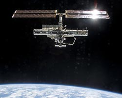 Full view of the International Space Station