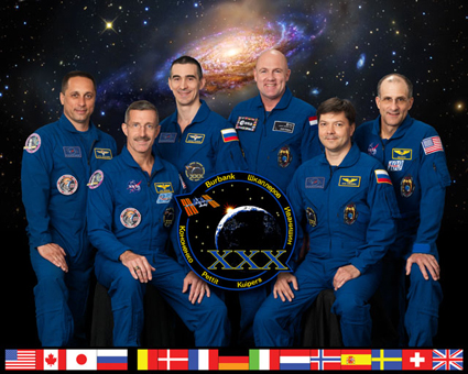 iss030-s-002 -- Expedition 30 crew members