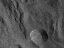Vesta, taken by NASA's Dawn spacecraft
