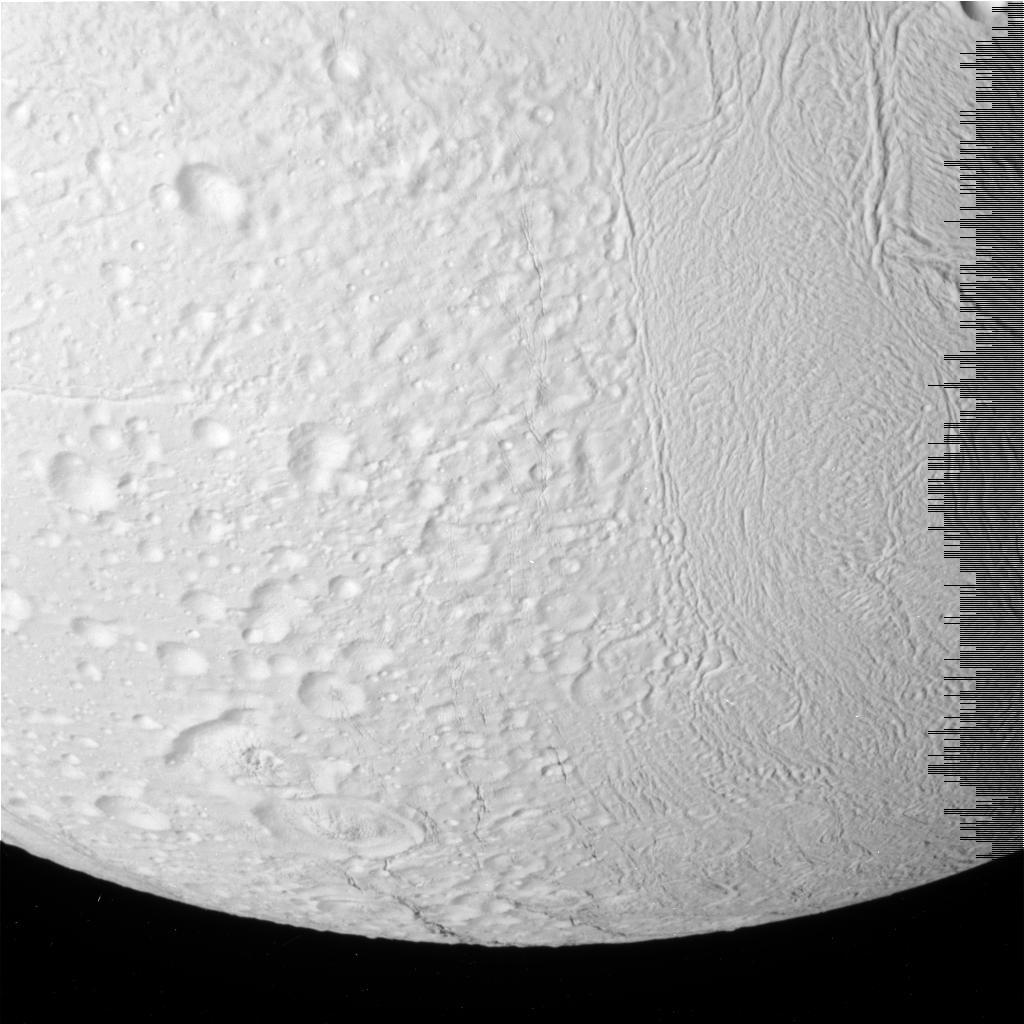 Enceladus Moon Surface Imaged Enceladus 39 Surface