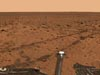 This image is part of a panoramic view taken by the camera aboard the Mars Exploration Rover Spirit. Photo Image: NASA/JPL/Cornell.