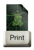image of print key