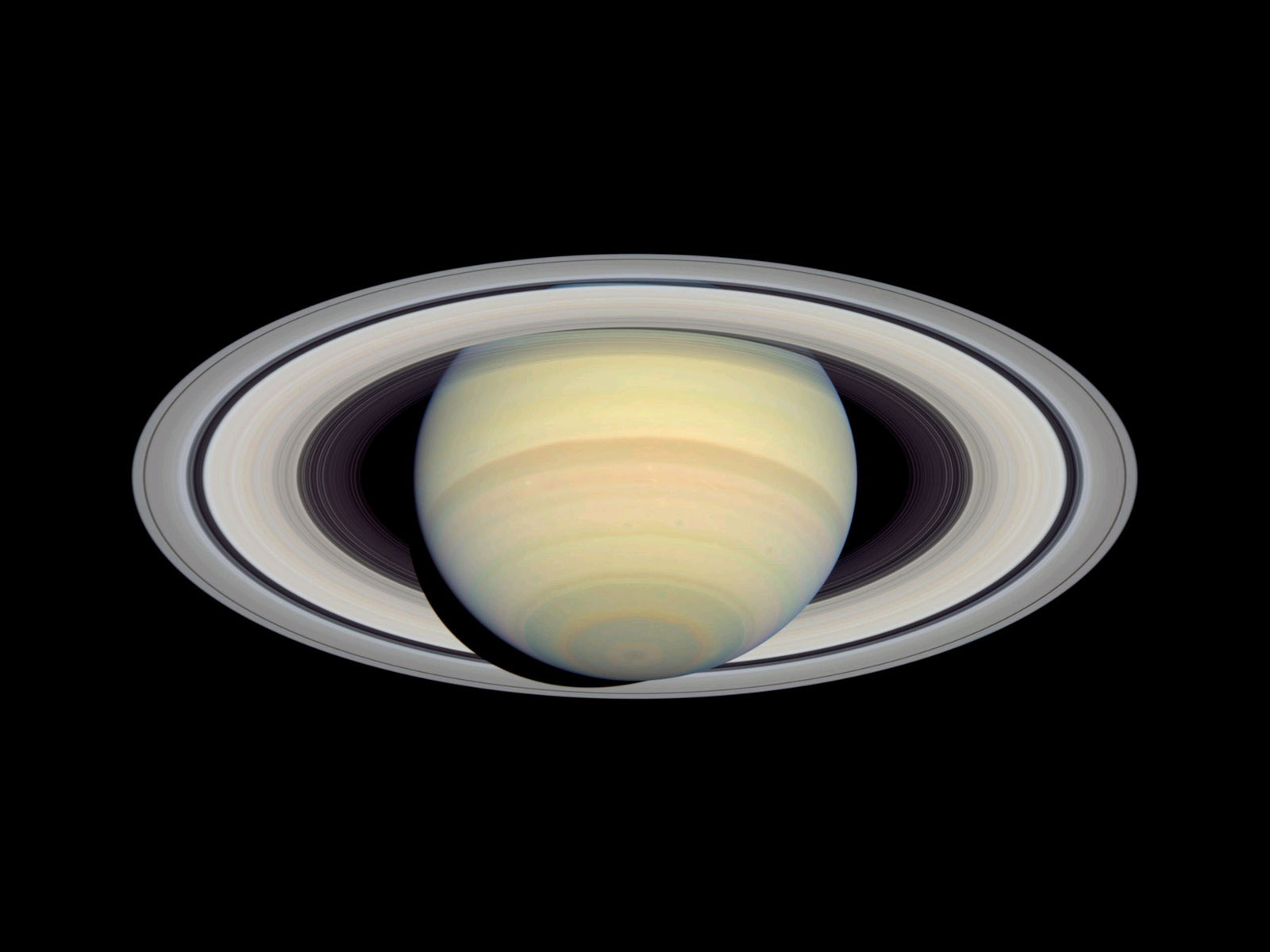 View Full Size Cassini Image  Saturn