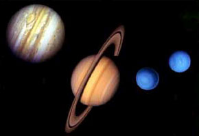 Gas Giants: Jupiter, Saturn, Neptune and Uranus