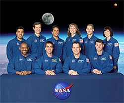 nasa astronauts in training