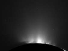 Unprocessed image of Enceladus