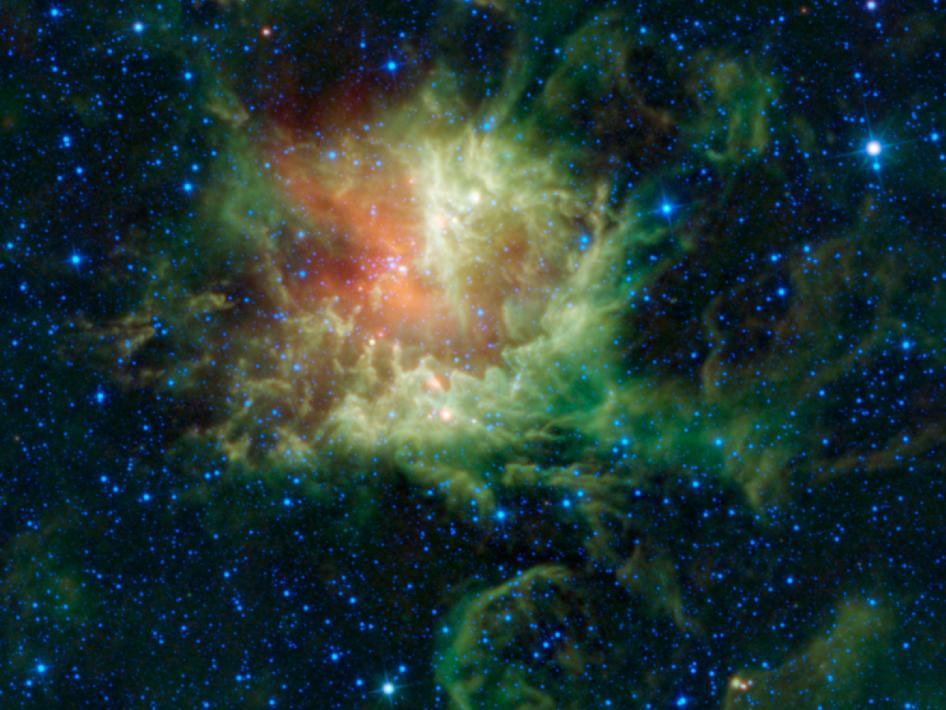 Star-forming cloud catalogued as NGC 281