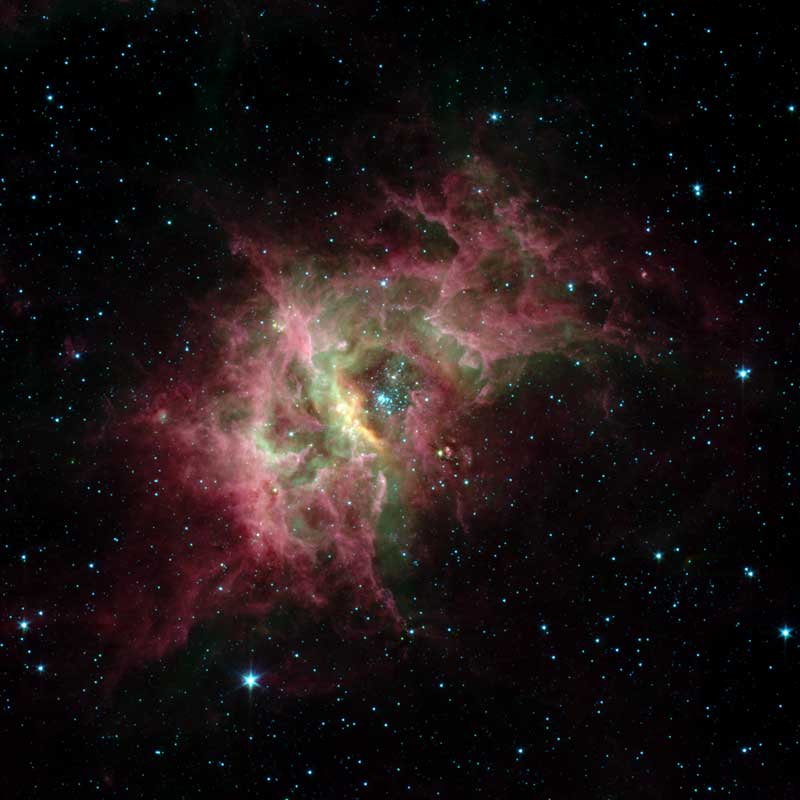 NASA - New Spitzer Discoveries Probe Dusty Origins of Planets