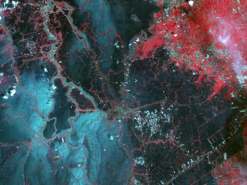 NASA's Terra Spacecraft Images of Thailand Flooding