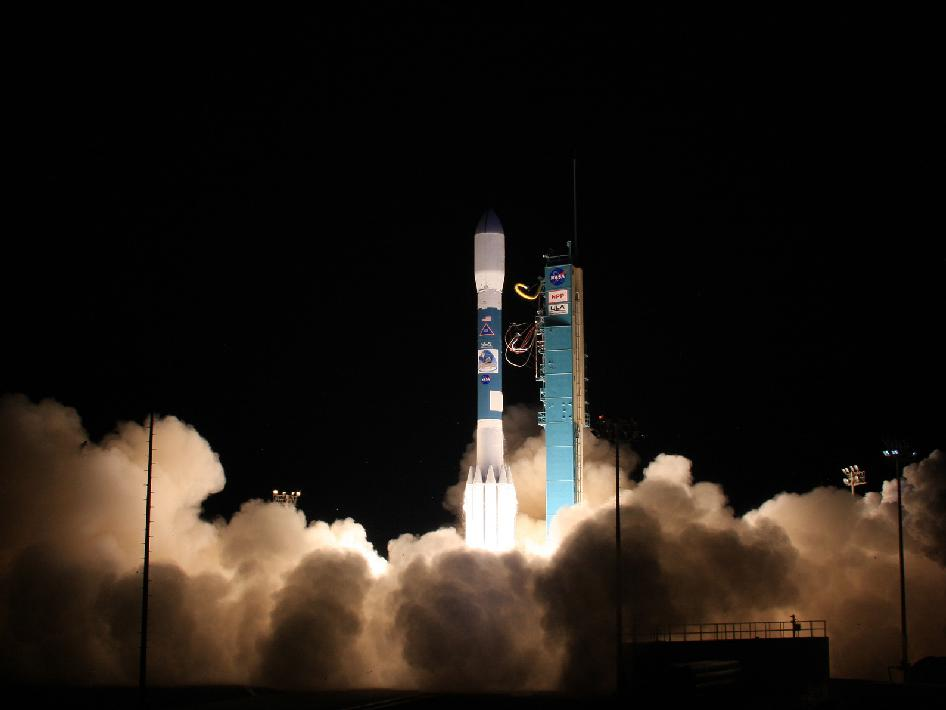 Delta II rocket launches.
