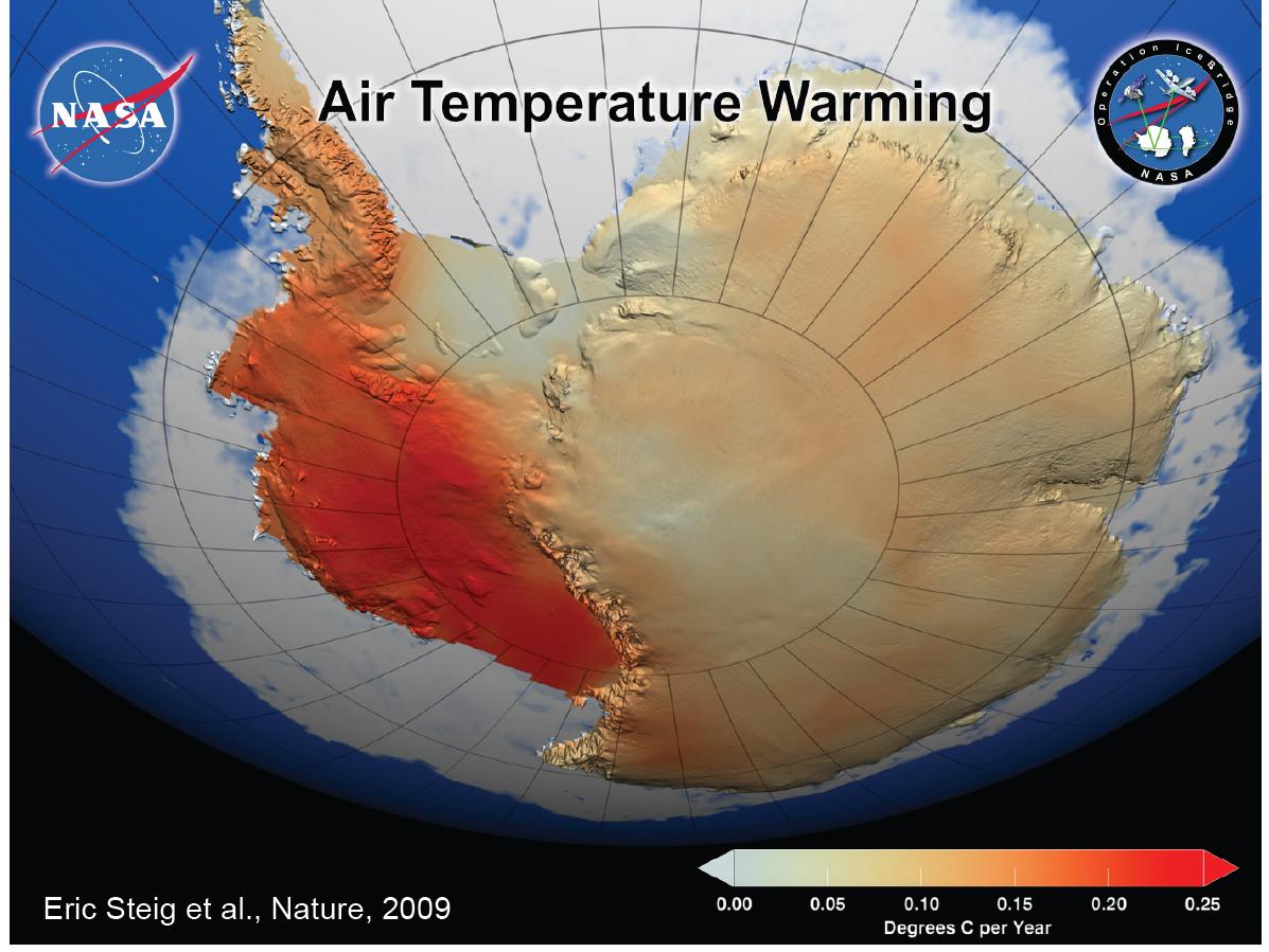 Nasa Operation Icebridge Reveals Changing Antarctic Ice