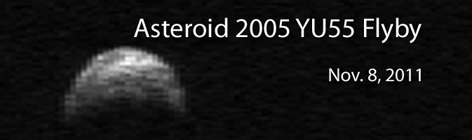 view asteroid 2005 yu55 - photo #8
