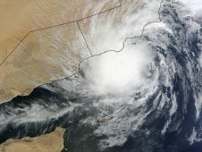 MODIS captured Tropical Storm Keila Mon 07:10 UTC (3:10 a.m. EDT) on Nov. 1, 2011.