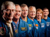 STS-1 and STS-135 Crew Members