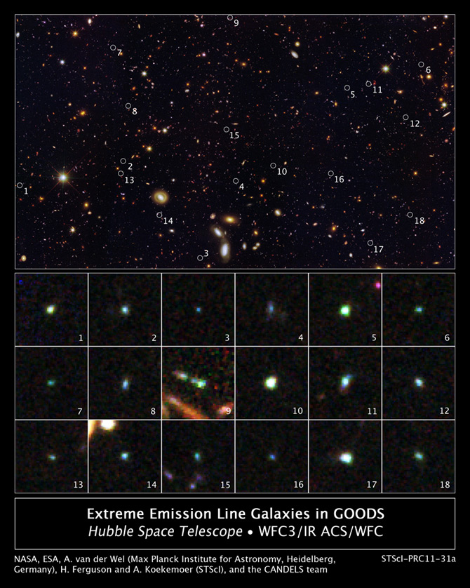 Hubble Tiny Galaxies image