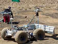 Mars rover in Hawaii