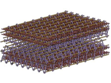 Schematic of a complex 3-D weave