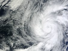 MODIS captured Hurricane Kenneth on Nov. 21 at 1:20 p.m. EST