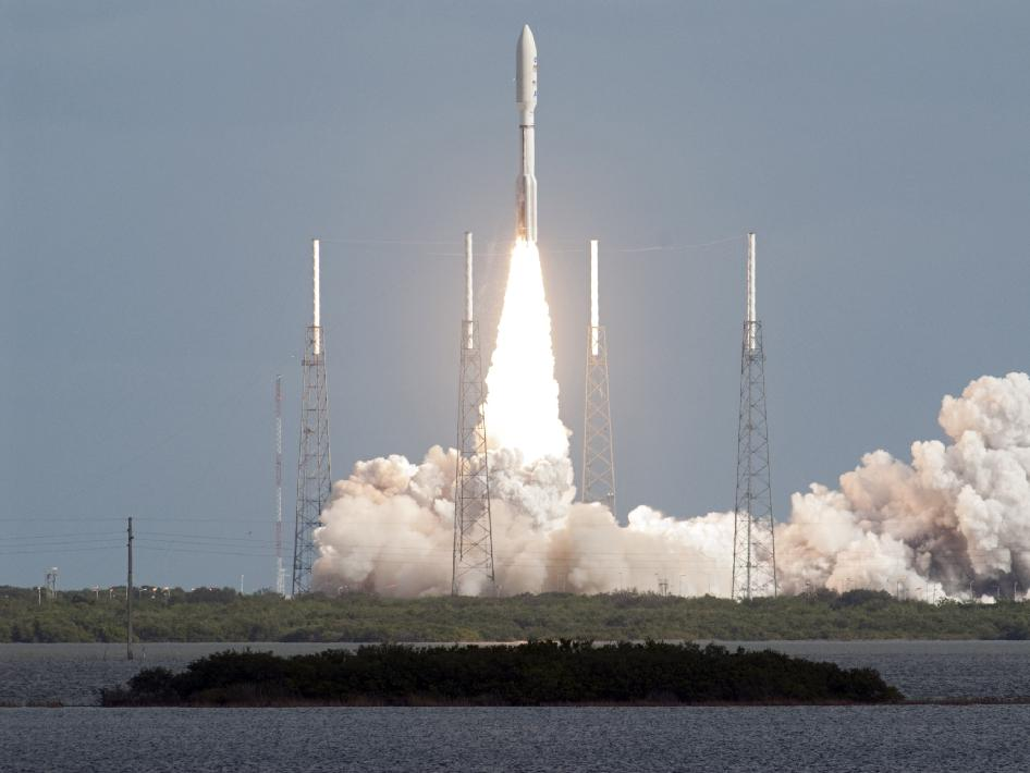Launch of NASA's Mars Science Laboratory spacecraft