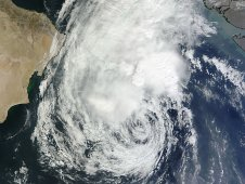MODIS captured a visible image of Tropical Storm 5A on Nov. 30, 2011 at 06:40 UTC (1:40 a.m. EST) .
