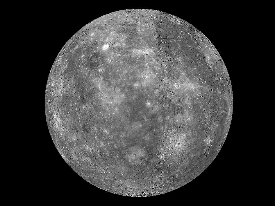 Planet Merkur Farbe
