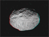 Asteroid Vesta in 3D