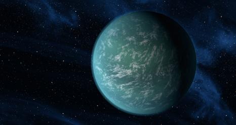 artist's concept of Kepler-22b