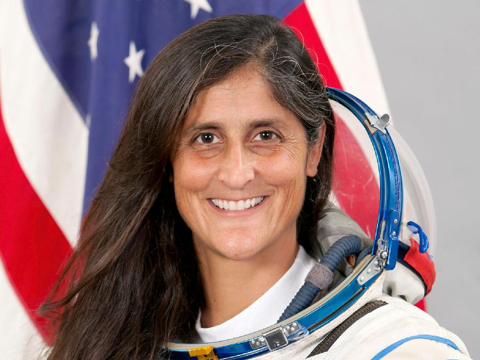 astronauts sunita williams - photo #22