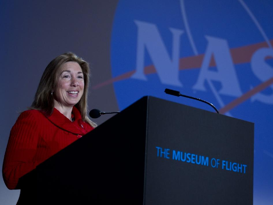 NASA Deputy Administrator Lori Garver at the Future Forum