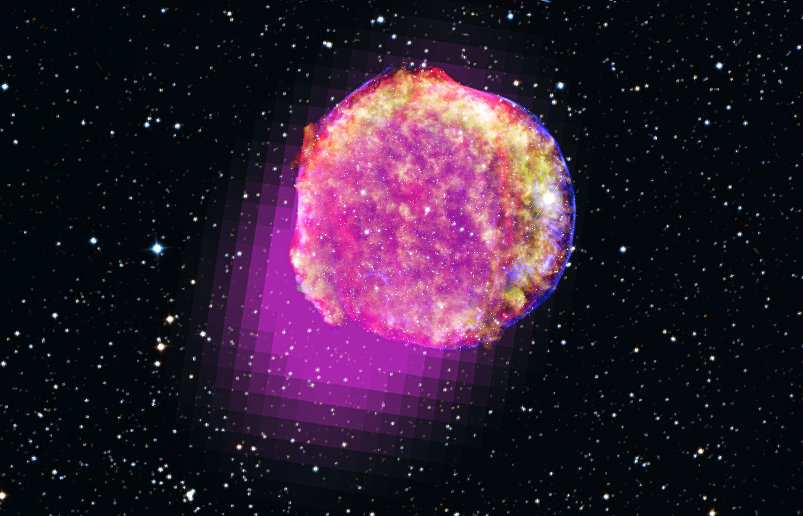 NASA's Fermi Shows That Tycho's Star Shines in Gamma Rays