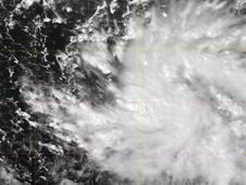 visible light satellite image of TD27W