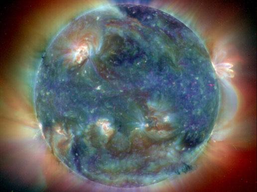 SOHO image of the Sun