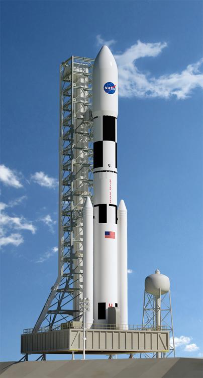 Файл:Space Launch System.jpg — Википедия
