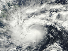 Tropical Storm Washi's Rainfall Intensifies Over Larger Area