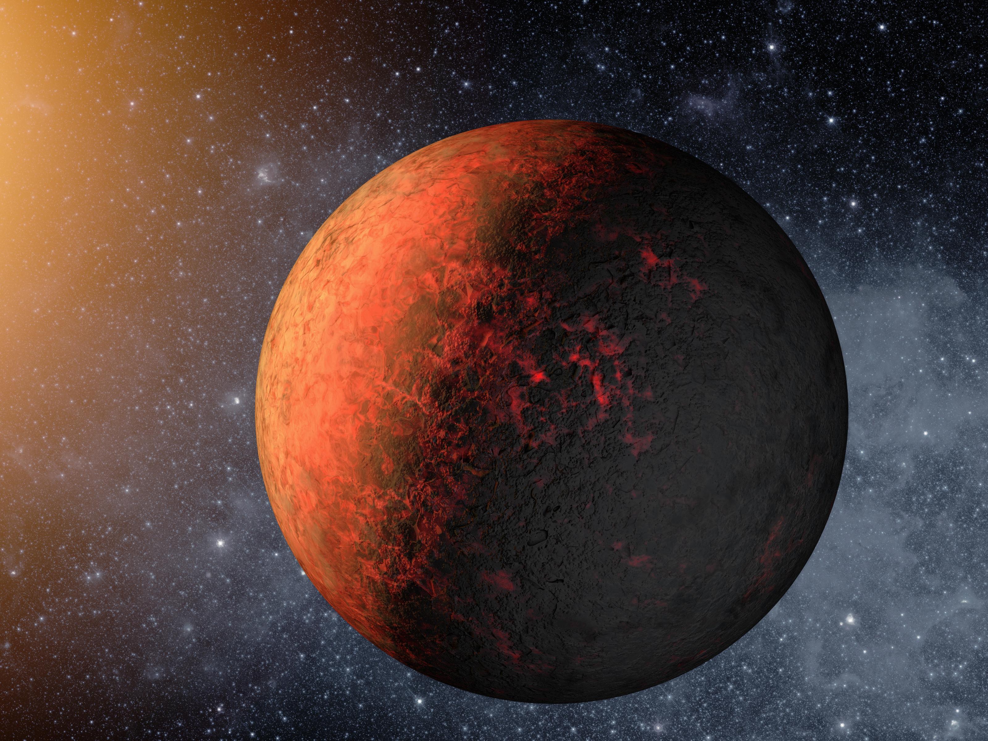 An artist's concept of Kepler-20e