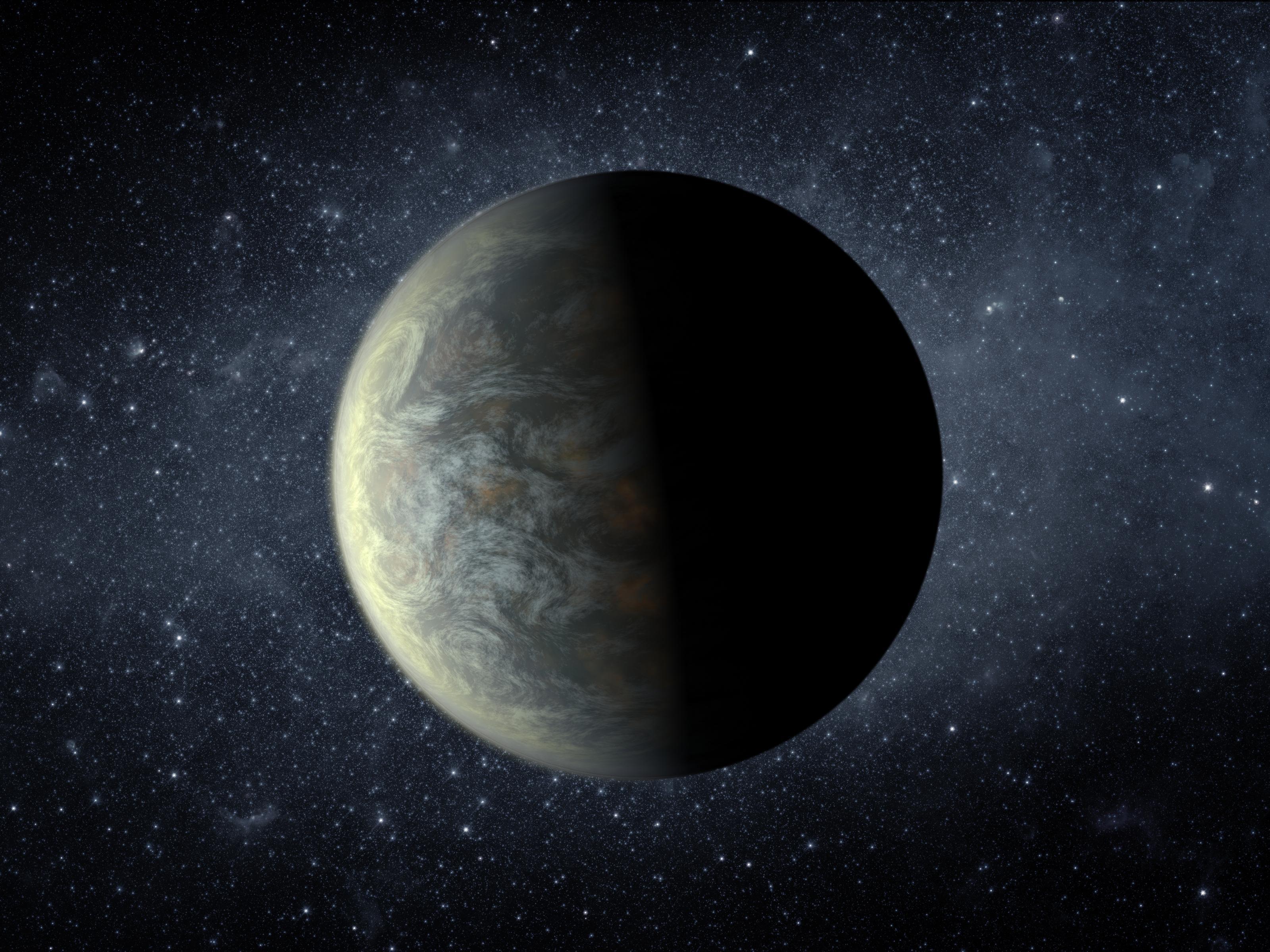 An artist's concept of Kepler-20f