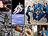 Collage from the Fun in Microgravity page