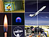 Collage from the Microgravity Website Image Gallery