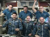 The six-member Expedition 30 crew