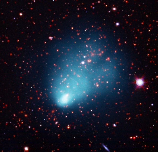 Composite image of El Gordo galaxy cluster