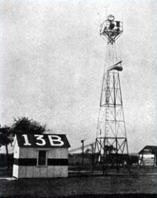 early airway standard light beacon tower