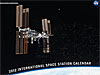 Front of International Space Station calendar