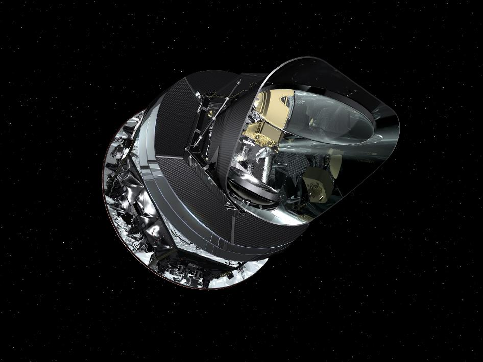 Artist's concept of the Planck spacecraft