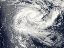 NASA's Aqua satellite passed over Tropical Storm Ethel in the Southern Indian Ocean on January 19, 2012 at 09:30 UTC (4:30 a.m. EST).