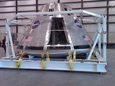 Orion test spacecraft