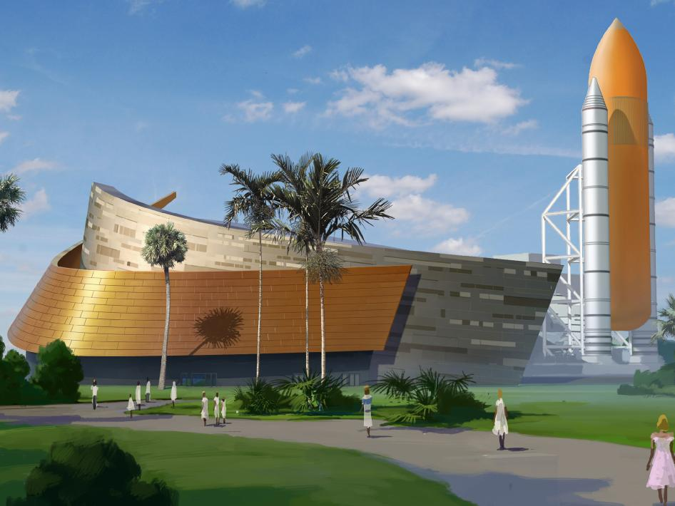 Construction Begins on Atlantis' Permanent Home