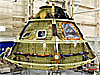 Orion capsule during construction