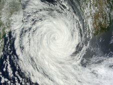 MODIS captured Tropical Cyclone Funso on January 27 at 0730 UTC (2:30 a.m. EST).