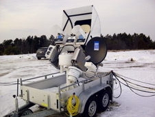 This instrument measures microwaves that are naturally emitted from Earth's surface to determine water vapor  and cloud and liquid water in the air column.